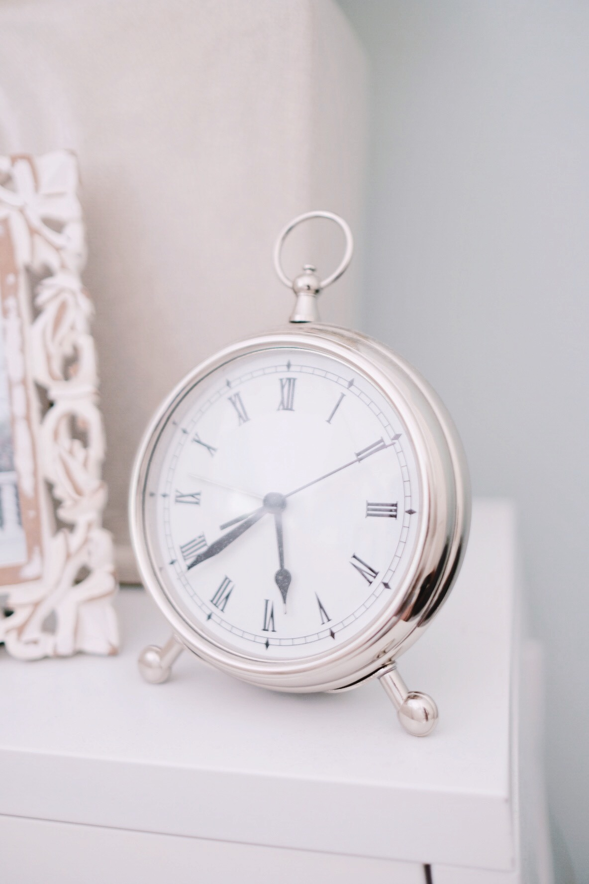 Pottery Barn Alarm Clock | Miss Madeline Rose